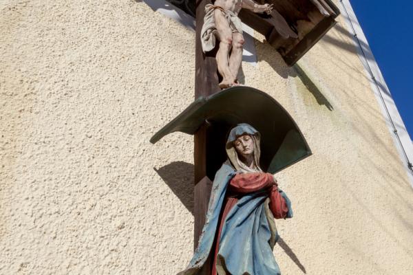 Kristus a Panna Maria